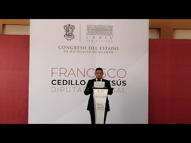 PACO CEDILLO 2DO. INFORME LEGISLATIVO