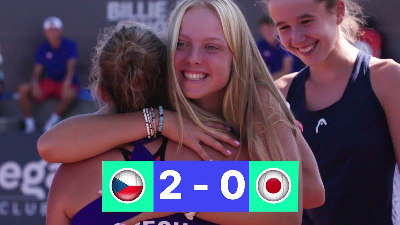 2021 Junior Billie Jean King Cup Final - Czech Republic v Japan