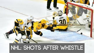 NHL: Shots after the whistle