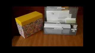 Organized Office- Envelopes, Stamps and Pen Station for the Family Thumbnail
