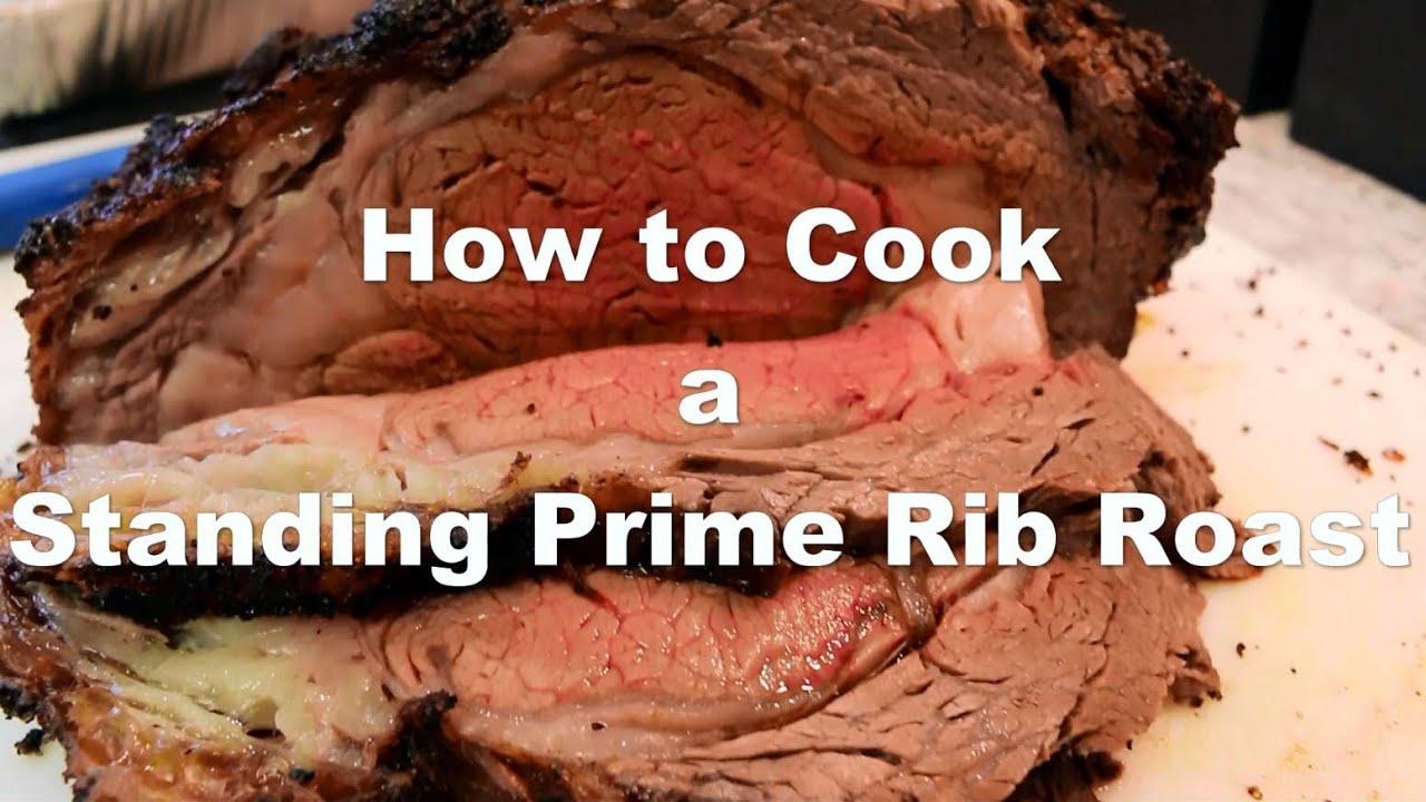 how to cook prime rib standing rib roast beef plus bonus