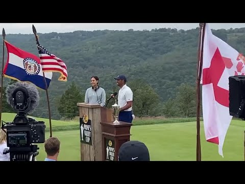 Tiger Woods Visits Ozarks To Open New Course In Memory Of Payne Stewart