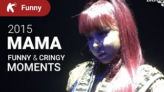 Kpop MAMA 2015 - Funny Moments