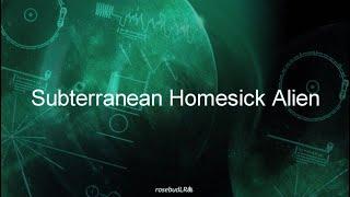Radiohead - Subterranean Homesick Alien (Oficial) Subtitulada en español / Inglés