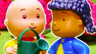 🌹 Romantic Caillou 💖 Funny Animated Kids show | Caillou Stop Motion
