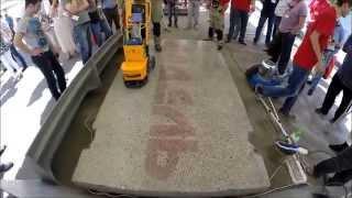Полировка бетона инструментом  Адель.(, 2015-03-06T12:19:55.000Z)