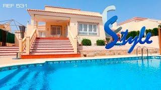 Купить дом в Испании цена 470 т евро, 3 спальни, 2 ванные, на гольф полях Las Ramblas EStyle Ref 531(В продаже вилла рядом с пляжем на Коста Бланка. Вилла с видом на озеро и гольф. В пешей доступности до виллы..., 2016-01-22T17:50:46.000Z)