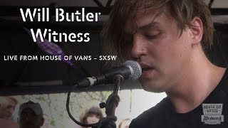 """Will Butler performs """"Witness"""" at SXSW"""