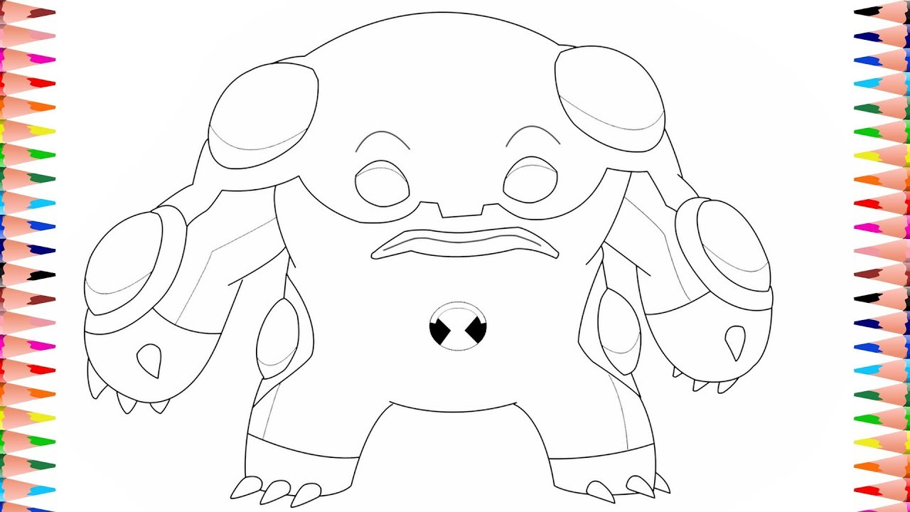Ben 10 Alien Force Spidermonkey coloring page   Free Printable ...   720x1280