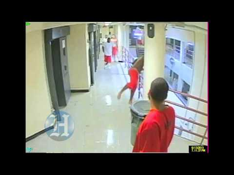 Miami-Dade jail break surveillance footage
