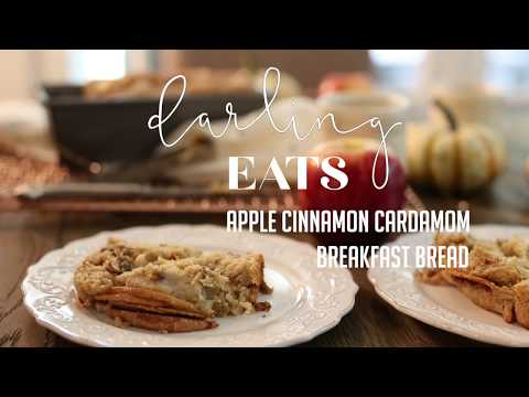 Cardamom Apple Breakfast Bread