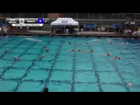 2017 Men's Senior Nationals | 3rd A - Santa Barbara vs. 3rd C - Newport