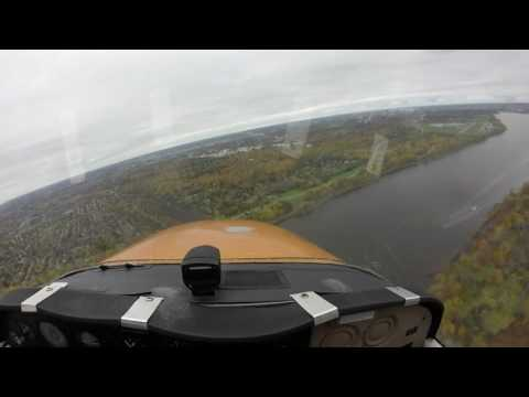 Circuits At Rockcliffe (CYRO) In A Cessna 172