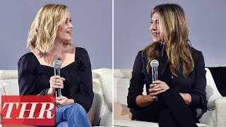 Jennifer Aniston, Reese Witherspoon In Conversation with 'The Morning Show' | THR