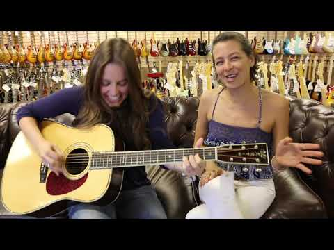 "Roses and Cigarettes ""Gypsy Woman"" with a Martin D-42 at Norman's Rare Guitars"