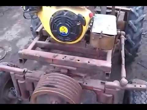 Саморобний трактор своїми руками