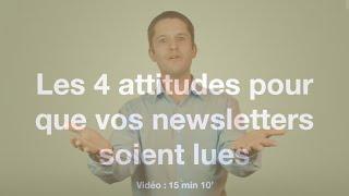 Les 4 habitudes à adopter pour que vos Newsletters soient lues