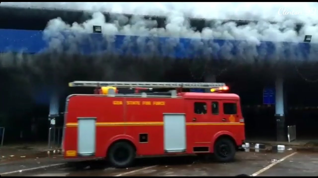 FIRE at KTC Bus stand and RTO office, Panjim-GOA