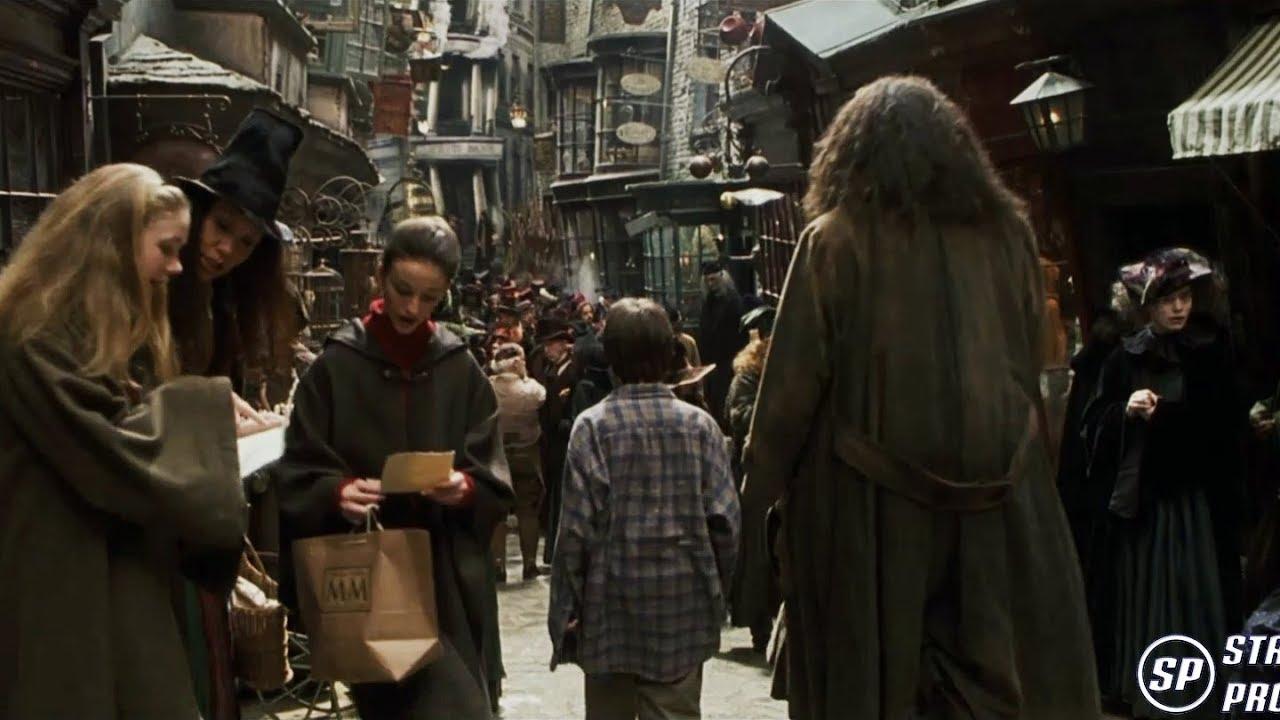 Harry Potter Y La Piedra Filosofal - El callejón Diagón [4K] Castellano
