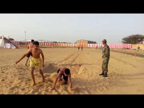 army recuritment in bikaner 01