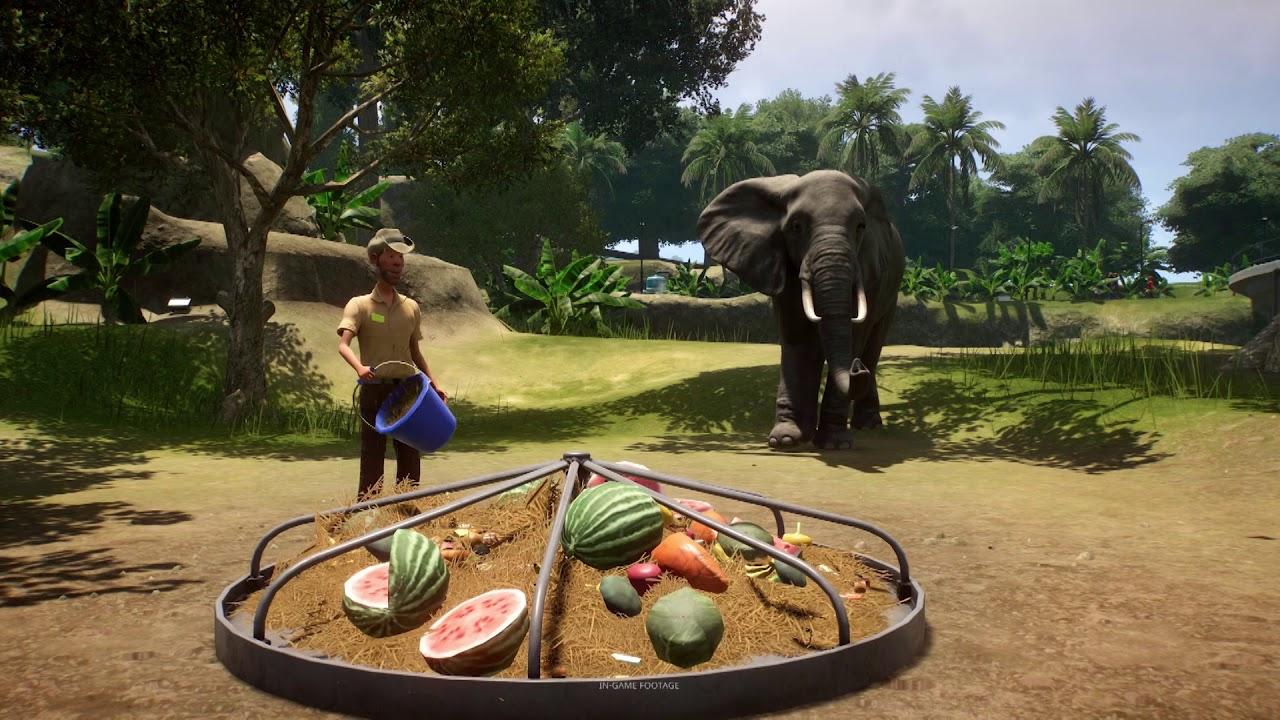 Planet Zoo simulator