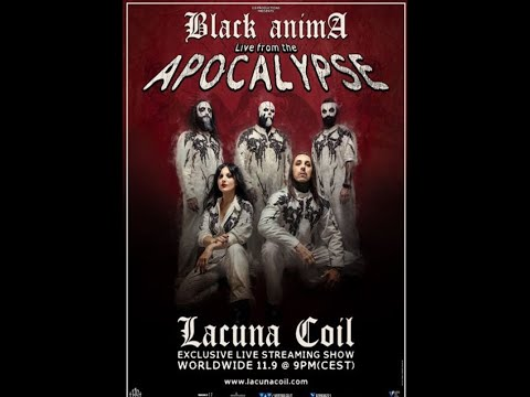 "Lacuna Coil to perform livestream of new album ""Black Anima"" live in full from Italy!"