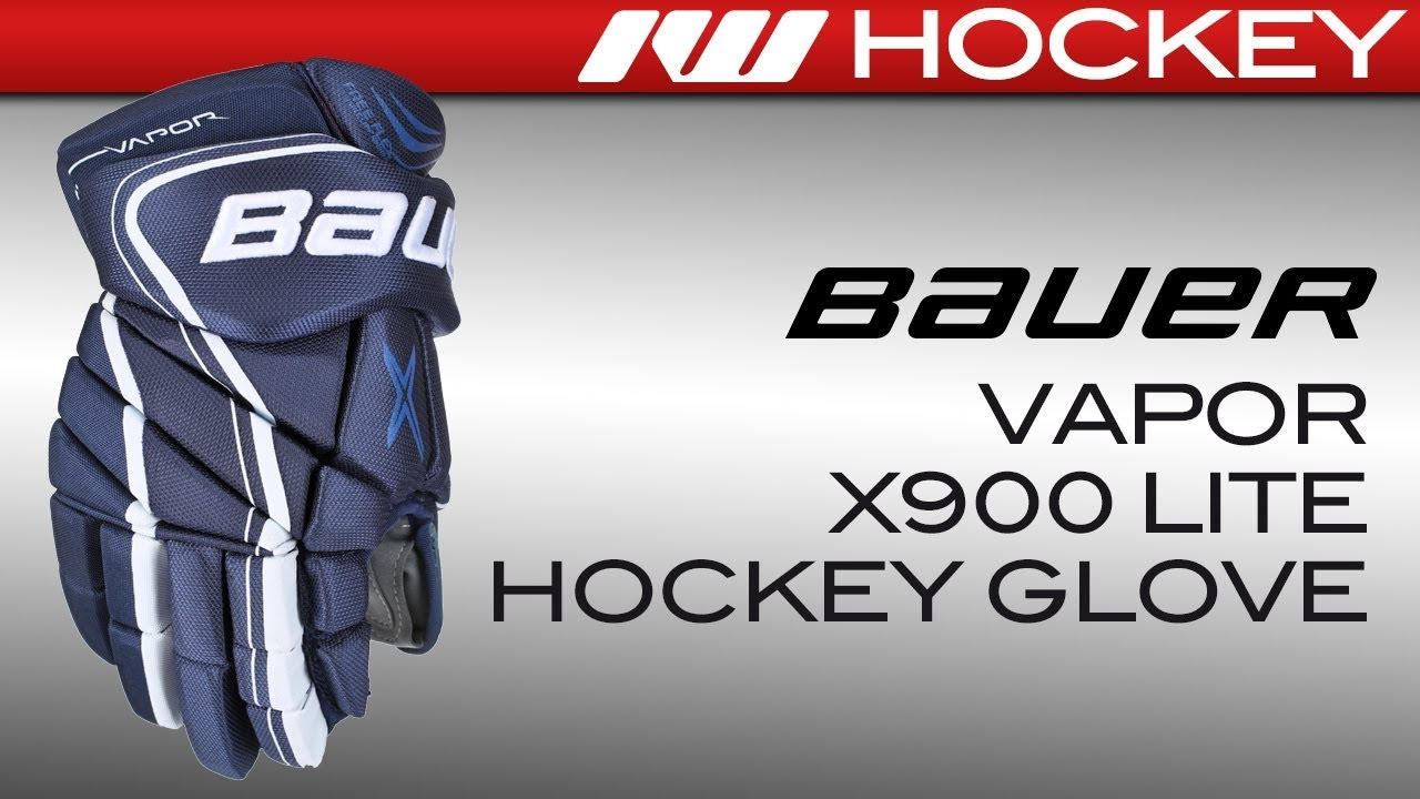 2b0b448fe32 Bauer Vapor X900 LITE Glove Review - YouTube