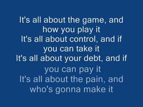 motorhead all about the game lyrics