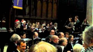 Christmas Carol (Silent Night) at St Mary Magdalene Church in Newark (4))