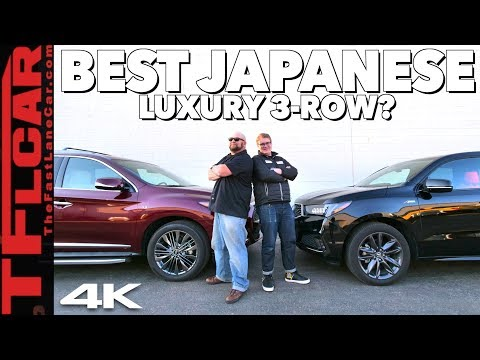 2019 Acura MDX A-Spec vs 2019 Infiniti QX60 | Unfiltered Real-World Buddy Review