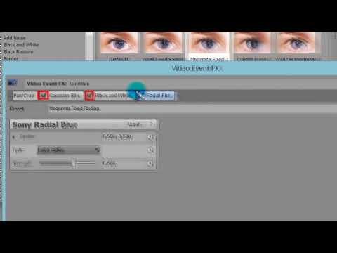 Sony Vegas Pro эффекты. Как добавлять эффекты в Sony Vegas Pro?