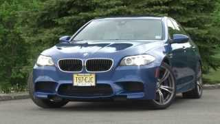 2013 BMW M5 - Drive Time Review with Steve Hammes | TestDriveNow
