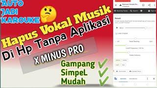 Cara Menghapus VOKAL Lagu MP3 Di Hp Android Tanpa Aplikasi | Auto Jadi Karouke