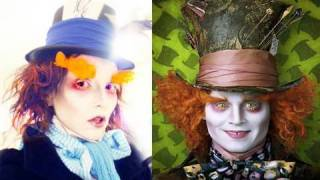 Mad Hatter (Johnny Depp) Make-Up | Kandee Johnson