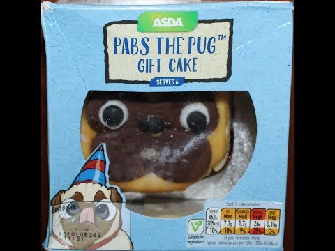 ASDA Pabs the Pug Gift Cake Review