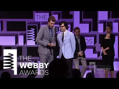 The Gregory Brothers Present Rhett & Link at The 19th Annual Webby Awards