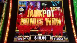 The Walkind Dead 2 Slot Machine Bonus Win with Max Bet and  ★MICHONNE LINE HIT★