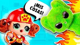 🔥🐶 ¡NIÑA SALVA a un BEBÉ Gatito Fuzzy Pets y le da un baño - Muñecas y Juguete Para niñas y Niños
