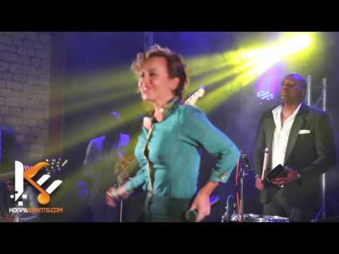 Gabel & Tina - A Tes Cotes Live Performance @ Dock Eiffel Paris   5 /6/ 17