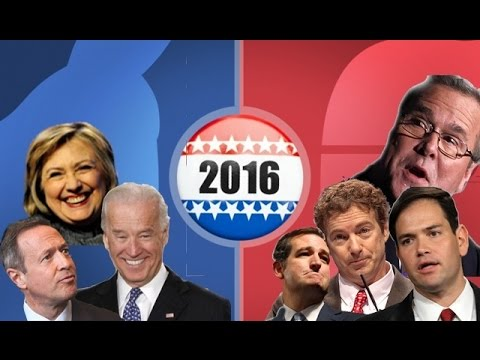 2016 presidential candidates youtube