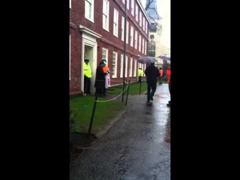 Massachusetts Hall Blockade