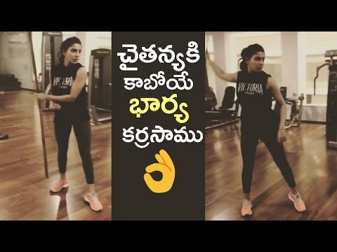 Samantha Practicing Stick Fighting | Samantha Unseen Shocking Video | TFPC