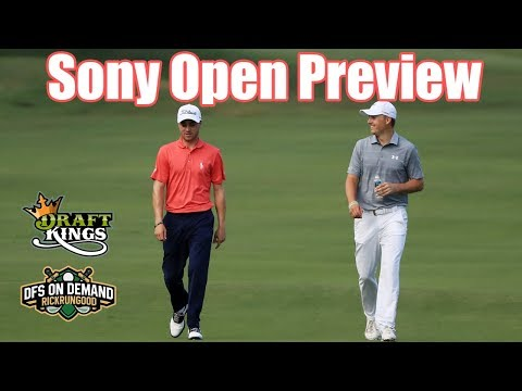 Sony Open Preview & Picks 2019 - DraftKings