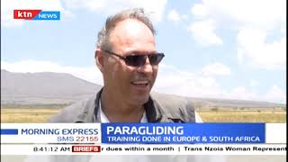 Paragliding gaining popularity in Kenya for either recreation or simply for the love of adventure