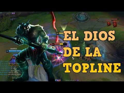 EL DIOS DE LA TOPLINE | league of legends