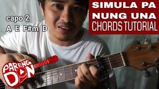 Baixar Guitar tutorial: Patch Quiwa 'Simula pa nung una' chords