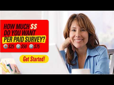 Paid surveys online : How I Earn $3500 Per Month taking the best Paying Online Surveys !