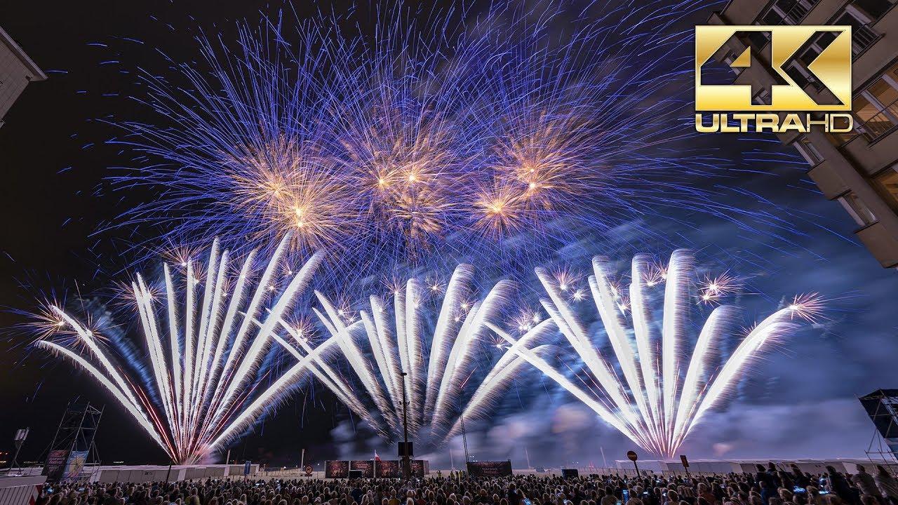 ⁴ᴷ Int Fireworks Festival Knokke Heist 2018 Surex Polenpoland