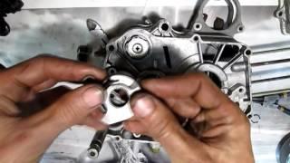 как правильно собрать механизм кик стартера на мопеде Viper Activ альфа дельта