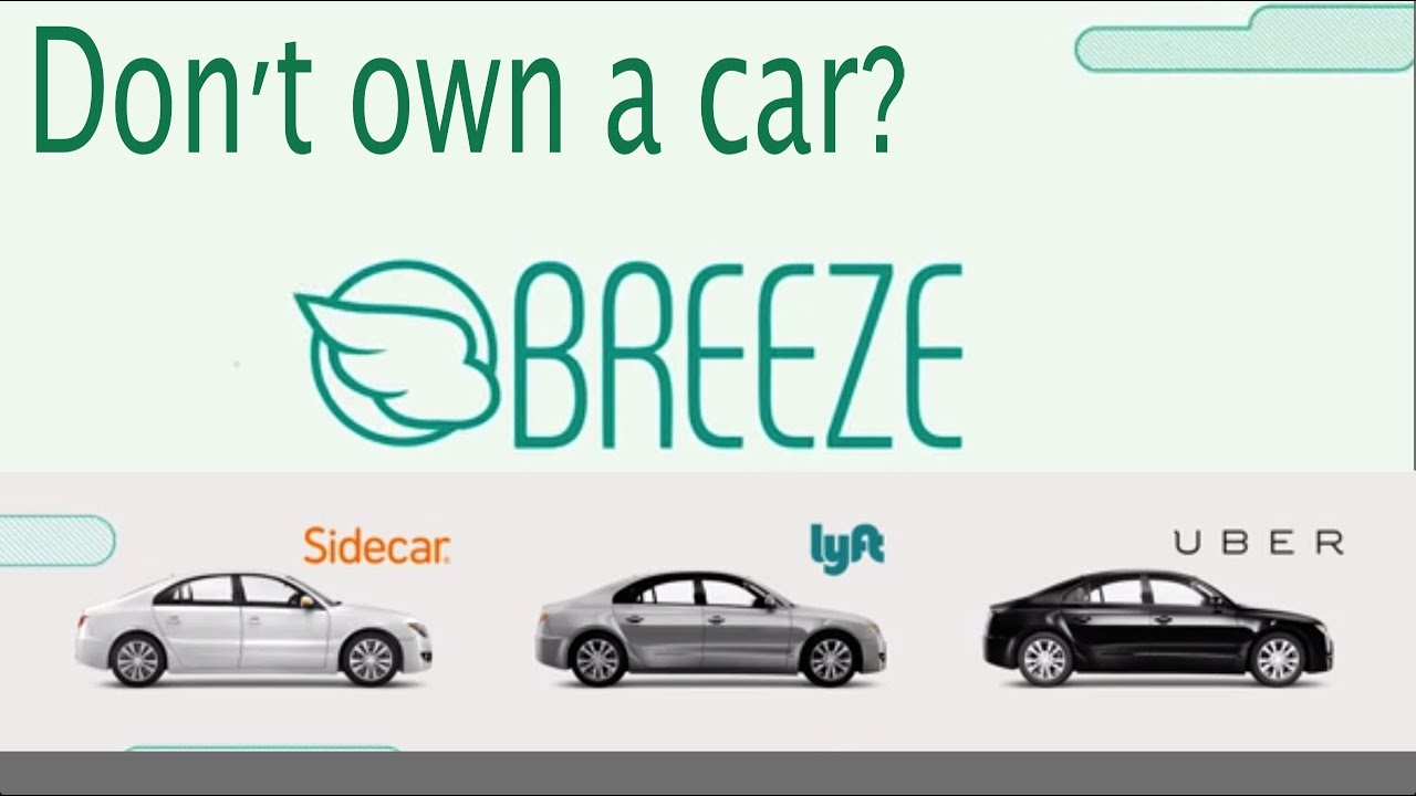 Uber Car Lease >> Breeze Borrow A Car For Uber Lyft Sidecar No Commitment Youtube